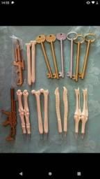 Um kit disponível 5 ossos