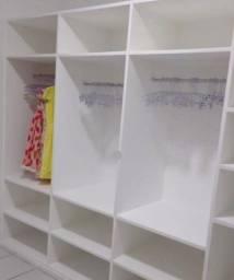 Closet, armário, bancada drywal