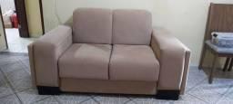 2 sofás grandes.