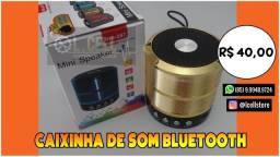 Caixa de som rádio e bluetooth