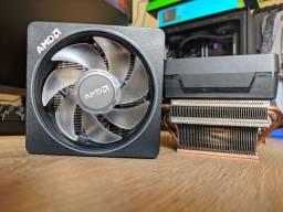 CPU Cooler Amd Wraith Prism AM4