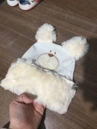 Touca de bebe menino inverno