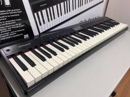 Piano Digital Roland Go 61P em perfeito estado. Ainda na garantia