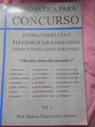 Livro Matemática para concurso