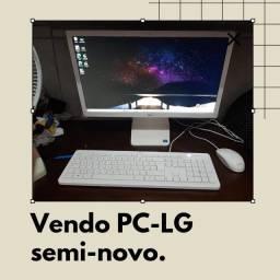 Título do anúncio: Computador semi novo , pouco usado , sem marcar de uso , tenho nota fiscal