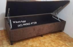 Cama Box Baú Solteiro #Direto da Fábrica