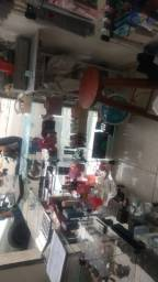 Vendo fundo de loja, vitrines, balcão e ilha