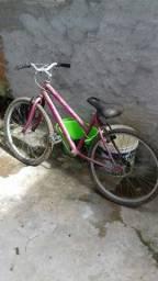 Bicicleta de menina toda boa aro 24