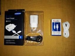 Carregador e cabo para carregador de celular