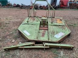 Roçadeira central lateral de cardã giro livre 1,50 Kamaq modelo KD 152