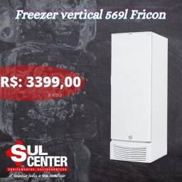Freezer 569 litros vertical Fricon