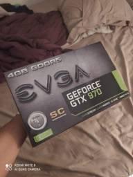 Nvidia Evga Gtx 970 4 GB SC (Melhor que 1050ti 1060 e 1650)
