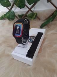 Smartwatch P8 Plus + pulseira milanese + Película