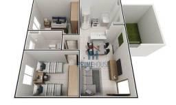 Apartamento com 2 dormitórios à venda, 38 m² por R$ 161.990 - Jardim Imperial II - Ao lado