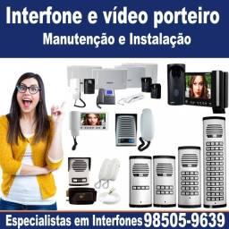 Manutenção e Instalação de Vídeo Porteiro