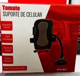 Suporte de Celular para Carro 3 a 7 polegadas braço giratorio Mtg-021