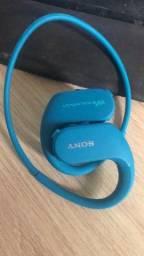 Fone de ouvido Sony Walkman NW-ws413 4gb azul