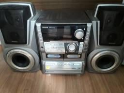 Som Aiwa 5 cds 5000 wats Pmpo