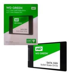 SSD 480GB Disco Sólido Interno Western Digital WD Green WDS480GB - Loja Natan Abreu