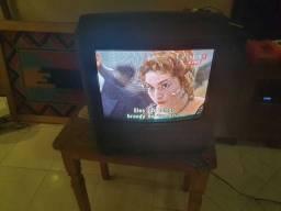 Televisão Sony tubo 14 polegadas com vídeo cassete