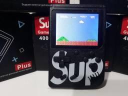 Mini game portátil Sup 400 jogos em 1