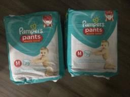 Fralda Pampers Pants M - 40 unidades