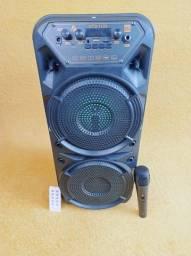 Caixa de Som KTS 1133 Bluetooth Com Microfone e Controle