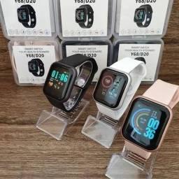 Relógio inteligente smartwatch D20 Android IOS Bluetooth notificação app fit pro