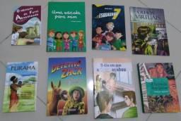 Livros 7º ano Paradidáticos.