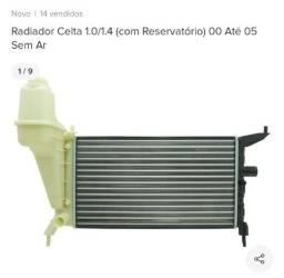 Radiador Celta reservatório sem ar