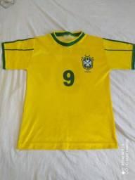 Camisa Brasil Ronaldo Fenômeno
