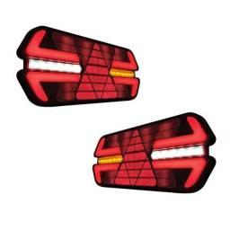 Par de lanterna Triplo X 12 ou 24V;