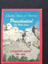 Album Presidential - One Dollar Coins