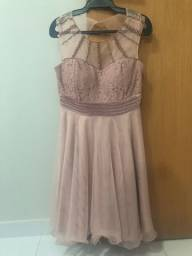 Vestido de festa (usado uma única vez)