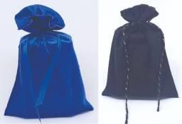 Saquinhos/sacolas/embalagens  em veludo sem personalização