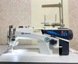 Máquina de Costura Reta Eletrônica Industrial Sansei-MQ2, Direct-Drive
