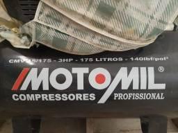 Compressor monofásico 175 litros