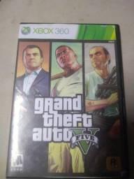 GTA v de Xbox 360 vendo ou troco por jogos de futebol de ps3