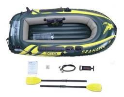 bote inflável eahawk 2 P/ 2 Pessoas-200kg Intex