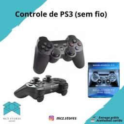 Controle de PS3 sem fio (ENTREGA GRÁTIS )