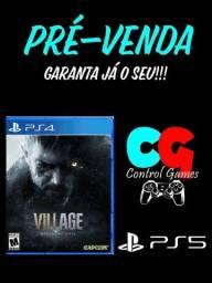 Resident Evil 8 Village (Pré-Venda) PS4 PS5 Xbox One