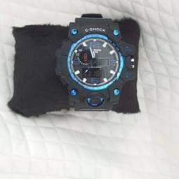 Relógio Shock Azul à prova de água e oxidação.