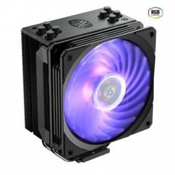 cooler para processador hyper 212 rgb - black edition c/ control