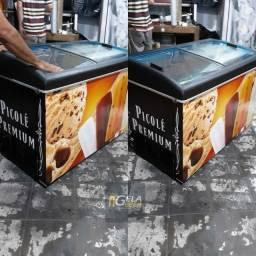 Freezer Expositor Horizontal 410 litros No Estado