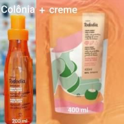 Perfume + Creme Desodorante Nutritivo, natura