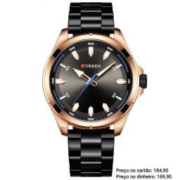 Relógio Masculino Luxuoso Original Curren