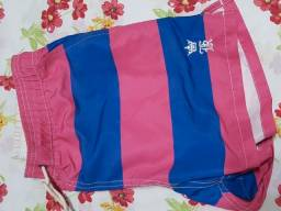 shorts de praia / calçao / bermuda - sergio k - tamanho m - original - pouco usado