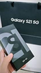 Galaxy S21 plus + 128gb na caixa