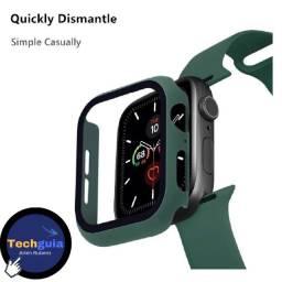 Capa Case Silicone Para Apple Watch+pulseira Silicone 42mm Com Nota e Garantia