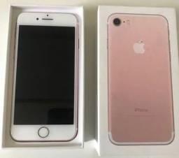 iPhone 7 Rose 32GB - aceito iPhone